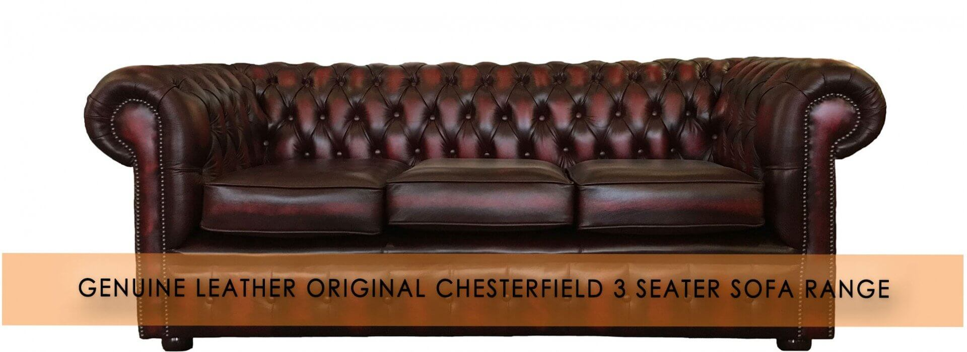 3 Seater Sofa Range